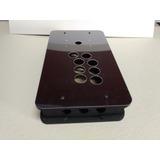 Caixa Controle Arcade Tgm Mod2 Em Mdf Com Tampa Ps Cristal