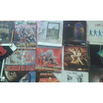 Encartes Completos De Cd Iron Maiden Pantera Black Sabbath