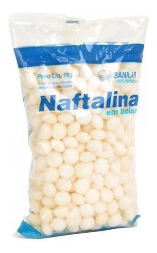 Naftalina Bolas 10 Kg