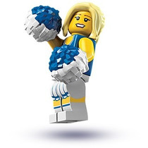 Lego Minifigures Series 1 Cheerleader 8683 Original