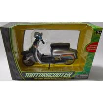 Miniatura Scooter Lambreta Die Cast E Plástico