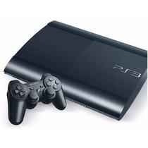 Vídeo Game Playstation 3 - Ps3 - Super Slim 12 Gb - Completo