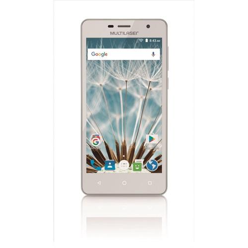 Smartphone Ms50s 3g Tela 5 ´ ´ Dual Câmera 5mp+8mp Branco