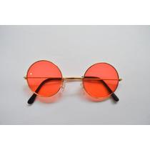 Óculos Unissex Pequeno P/ Sol Lente Redonda