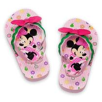 Disney Store - Minnie Sandália Plataforma Chinelo
