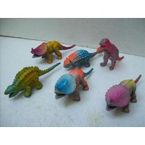 Brinquedos Antigos Bonecos Dinossauros Lote C/06 Dino Grande