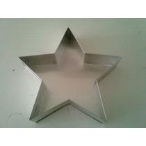Forma Decorativa Estrela De Natal Em Aluminio