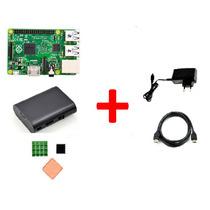 Kit Raspberry Pi2 Quad 1gb + Case +dissipador + Hdmi + Fonte