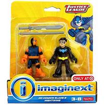Dc Imaginext Super Friends Nightwing & Deathstroke