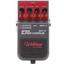Pedal Para Baixo Bass Super Chorus Bch 2 Waldman 3632