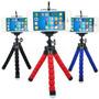 Suporte Universal Perna Flexível Celular Iphone Galaxy Foto