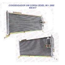 Condensador Gm Corsa 99/2000/01/02 Modelo Zexel Frete Grátis