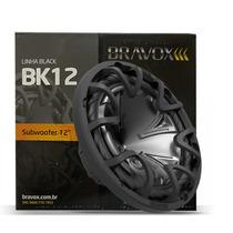 Auto Falante 12 Bravox Linha Black Bk12 350w Rms Bob Dupla