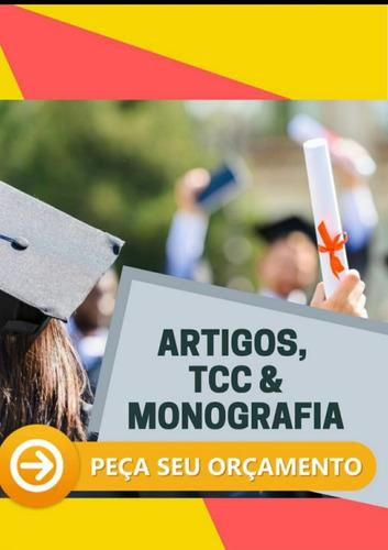 Elaboração De Artigos, Resenhas, Redações, Tcc's E Monografi