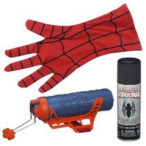 Luvas Lancador De Teia Spider-man- Mega Blaster Web Shooter