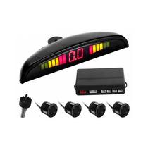 Sensor De Estacionamento Sonoro Ré 4 Pontos Carro Automotivo