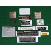 Adesivos Advertência Honda Cbx 750 F Indy Originais 7galo