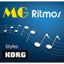 Lançamento!!! 700 Novos Ritmos ( Styles ) Teclados Korg Pa
