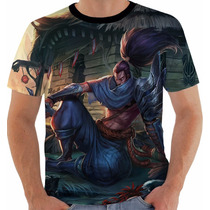 Camisa Camiseta Regata League Of Legends Yasuo Lol 47 Imperd