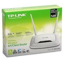 Roteador Tp-link Tl-wr843nd + Cliente + Ap Poe 300mbps