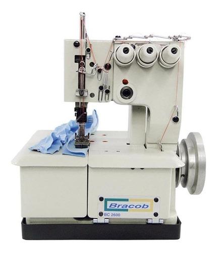 Máquina De Costura Industrial Bracob Bc26003 Branca 110v