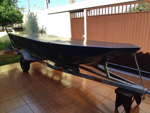 BARCO FISHER, MOTOR YAMAHA, REBOQUE E ACESSÓRIOS