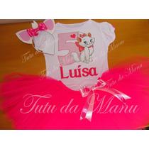 Fantasia Tutu Gatinha Marie Personalizada Completa