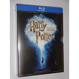 Box Blu-ray Harry Potter Coleção Completa 8 Discos