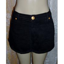 Shorts Jeans Fem. Tam. 44 Semi Nova C/ Strech