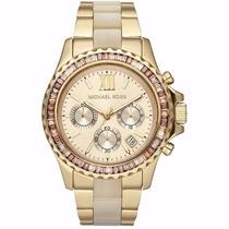 Relógio Michael Kors Mk5874 Dourado Original + Garantia
