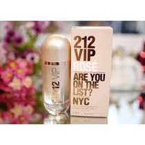 Perfume 212 Vip Rose Feminino Carolina Herrera 80ml Edp!!!!