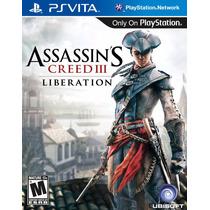 Assassins Creed Iii Liberation Psvita Original E Lacrado