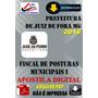Apostila Digital Prefeitura Juiz De Fora Mg Fiscal Posturas