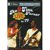 Dvd Duplo Ike & Tina Turner - The Legends Live In 71 - Novo*