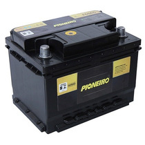 Bateria Carro Pioneiro 60ah 12v Focus Gol Corsa Celta Opala