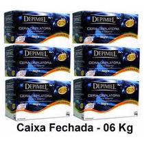 Cera Depilatória Negra Depimiel - Kit 6 Kg Caixa Fechada
