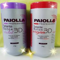Botox Selante Paiolla Argan 6x1 + Violet 7x1 Frete Gratis