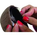 Protetor De Calcanhar De Silicone Auto Colante Sapato Salto