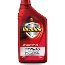 Óleo Motor Havoline Semi Sintético 15w40 Api Sl