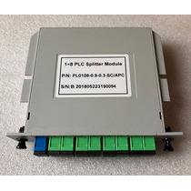 Splitter 1*8 Box Sc-apc 0.9mm Plc Modulo