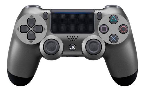 Controle Joystick  Sem Fio Sony Dualshock 4 Steel Black