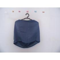 Saia Azul Plus Size Cód. 584