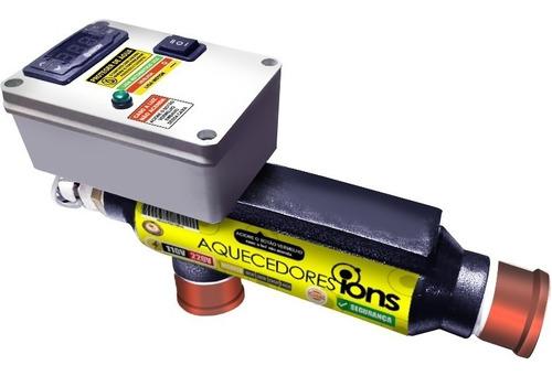 Aquecedor Piscina Ofuro 10.000 Litros Automático 50mm