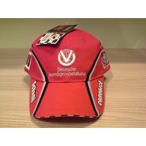 Boné Ferrari Michael Schumacher Vermelho - Original