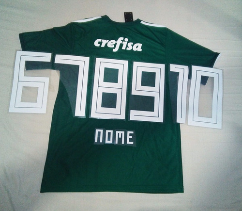13a9c5701e Camisa Palmeiras 2018 Personalizada Torcedor Supporter