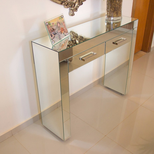 Adesivo Ploter De Recorte ~ Aparador Penteadeira De Espelho Lapidado Para Sala Quarto Mostra Fácil