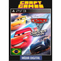 Carros 3 Psn Ps3 Cars 3 Midia Digital Português