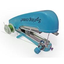 Promoção Mini Máquina De Costura Manual Om888 Azul