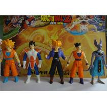 Kit Com 5 Bonecos Articulados Dragon Ball Z