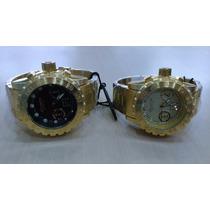 Relógio Atlantis Original Estilo Invicta Subaqua 100% Funcio